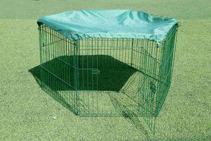 Green Yard Kaninchenzaun Freilaufgehege Amy 6tlg.