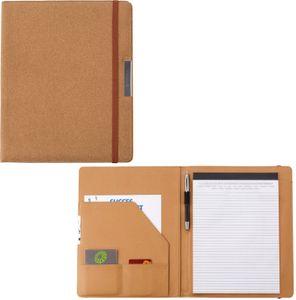 Konferenzmappe A4 3 Fächern Stifthalter Schreibmappe 20 Blätter Aktenmappe Mappe
