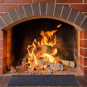 Feuerfester Kamin-Herdteppich Rutschfeste Schutzmatte Flammhemmende Unterlage LIN201207224A