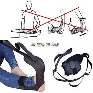 Yoga Ligament Stretching Gürtel Fuß Drop Strap Bein Training Fuß Knöchel Praktisch