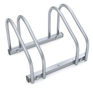 Monzana Fahrradständer für 2-6 Fahrräder 35-60mm Reifenbreite Mehrfachständer Aufstellständer Fahrrad Ständer, Variante:2 Fahrräder