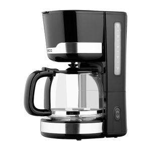 ECG KP 2115 Black Kaffeemaschine, Kunststoff, 1.5 liters