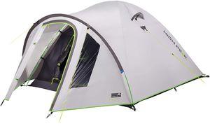 High Peak Kuppelzelt 2 Personen, hitzeabweisend Campingzelt mit Vorbau UV 80 Sonnenschutz, 3.000 mm wasserdicht, Iglu-Zelt für Camping und Festival, Wetterschutz-Eingang, Innenzelt abgedunkelt