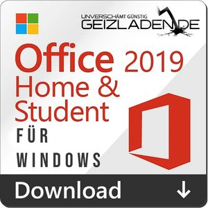 Microsoft Office 2019 Home and Student + Dauerlizenz Key Download