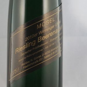 Weißwein  Mosel Weingut Horst Sünner Winninger Uheln Riesling 2010 Beerenauslese edelsüß (1 x 0,375 l)