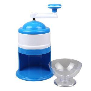 Eiscrusher Maschine, Ice Crusher manuell, Kunststoff Eiszerkleinerer