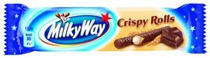 Milky Way Crispy Rolls Waffelröllchen mit leichter Milchcreme 25g