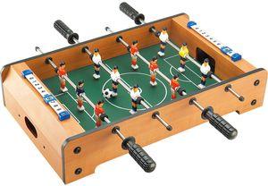 Luna Fußball Tischkicker Kinder Kicker Tischaufleger Tischaufsatz +6J Holz