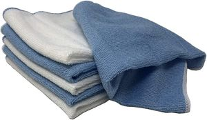 6 Stück Microfaser Tücher Putztücher Reinigungstücher
