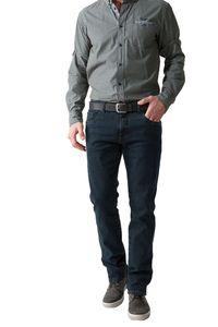 Stooker Frisco Stretch Herren Jeans Hose  In Verschiedenen Farben(Deep Blue Black,W36,L34)