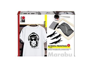 Marabu Textil Print Screen Set