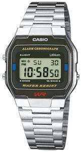 Casio Armbanduhr Collection Digital A163WA-1QES