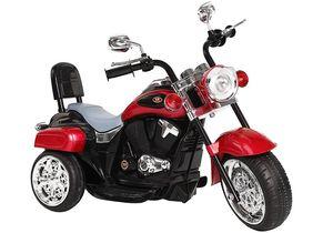 Kinder Motorrad Chopper FX Trike Rot elektrisch Elektromotorrad ab 3 Jahren mit Licht und Sound