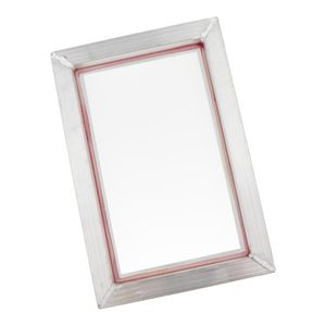 Siebdruckrahmen aus Aluminium, Rahmen Bildschirm für Siebdruck 22 x 32 cm, 77 t wie beschrieben