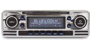 Caliber Retro Autoradio Usb/Sd/Bt 1 Din Rmd120Bt