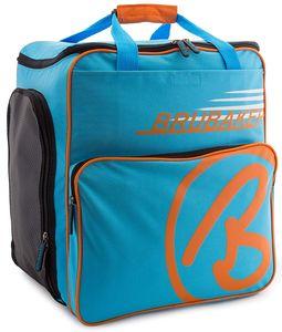 BRUBAKER Skischuhtasche Helmtasche Skischuhrucksack Super Champion Blau Orange