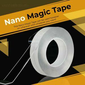 5m Nano Tape Doppelseitiges Klebeband Abnehmbares Gel Spurloses Klebeband