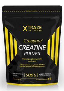 Kreatin Monohydrat Pulver Creapure® vegan, 500 g
