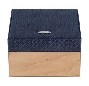 WINDROSE Wood Jewelry Box S Blue