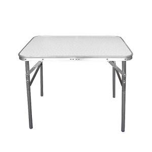 Wohaga® Klapptisch Aluminium 75x55x60cm