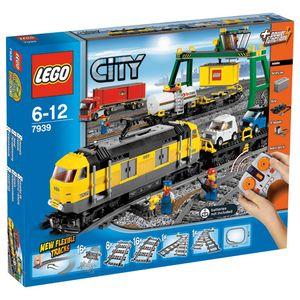 Lego City Eisenbahn Güterzug 839 Teile