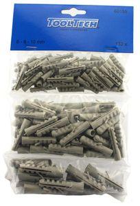 Veto 60155 Dübel Sortiment 132 tlg. 6-8-10 mm