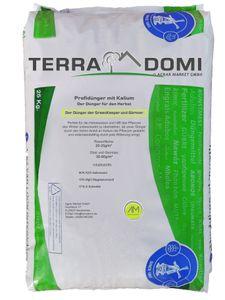 Terra Domi 25 kg Herbstdünger für über 1000m² I langzeit Rasendünger für die optimale Winterhärte I Kaliumdünger für Starke Wurzeln und ausgiebige Widerstandsfähigkeit