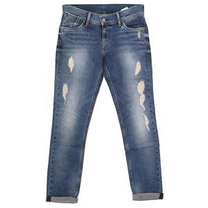 19746 Pepe, Joey Taper,  Damen Jeans Hose, Stretchdenim, blue vintage, W 30 L 30