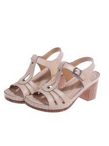 Abtel Damen Fashion Sandalen High Heels Fashion Pumps Strandschuhe,Farbe:Beige,Größe:35