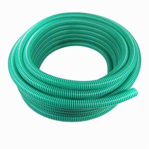 Saugschlauch Spiralschlauch grün 50 Meter Rolle 25mm