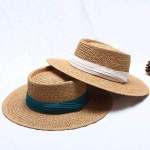 2 Stück Strohhut Summer Beach Sonnenhut Faltbarer UV Schutz Fedora Hut