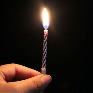10 magische Kerzen nicht ausblasbar magic Geburtstag Kerzen Scherzartikel M D8N2