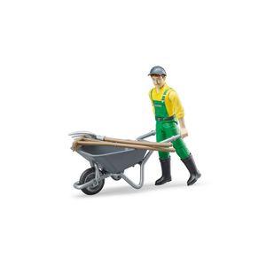 BRUDER Spielzeug Figurenset Landwirt Bauer Spielfigur + Zubehör Set / 62610