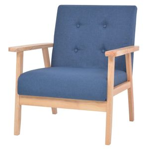 Relaxsessel Sessel Fernsehsessel | Aufstehsessel Loungesessel Armlehnensessel Eleganter Blau Stoff - 2378