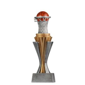 Pokal Trophäe Basketball Größe M Serie SALAKA aus PVC