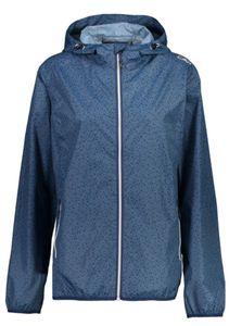 Cmp Woman Rain Fix Hood Jacket M926 Blue 42