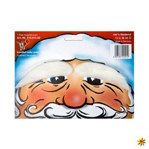 Augenbrauen weiß für Weihnachtsmann Kostüm