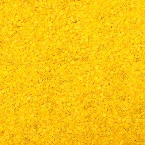 1kg Dekogranulat Granulat Streudeko Farbgranulat Dekosteine Farbkies ca. 0,7L 2-3mm, Farbe:gelb