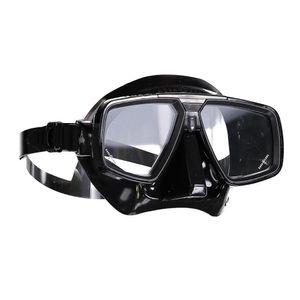 AquaLung Tauchmaske Look, Farbe:schwarz, Silikonfarbe:schwarz