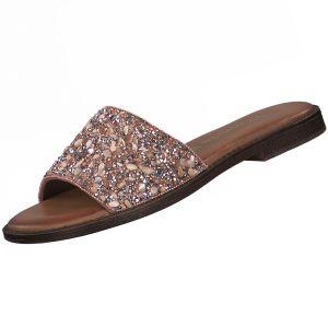Tamaris Damen Pantoletten Rosa , Schuhgröße:EUR 39