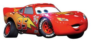 Wandsticker Cars Lightning McQueen XXL