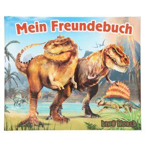 Depesche 11547 Dino World Freundebuch Dinosaurier T-REX Vulkan