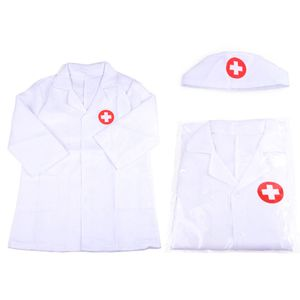 Kinder Arzt Krankenschwester Set Doktor Rollenspiel Spielzeug Arztkittel Arzt Kostüm Geschenke Ab 3-6 Jahre Jungen Mädchen (Weiß)