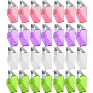 40 Stück Tischtuchklammer Kunststoff Tischdecke Clips für 3cm dicke Tische nutzbar Tischdeckenklammer Tischdeckenklemmen Tischdeckenhalter Klammer zum Befestigen der Tischdecke Deckenklammer