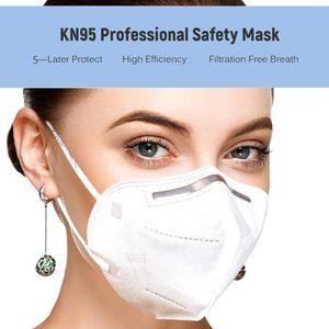 50 Stück KN95 Atemschutz  Maske N95 (KN95 ≥ 95\% = ≥ 94\% )Atemschutzmasken Schutzmasken Gesichtsmaske, 50PCS