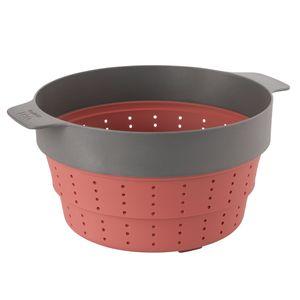 BergHOFF Leo 3950152, Schwarz, Rot, Nylon, Silikon, Rund, 24 cm, 305 mm, 250 mm