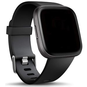 Sport Armband Gr. L für Fitbit Versa, Versa 2, Versa Lite Ersatzarmband Fitness Silikon Band Ersatzband