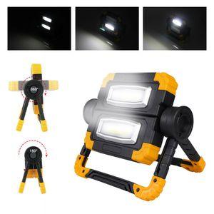 150W LED Akku Strahler Arbeitsleuchte Baustrahler Handlampe Flutlicht Fluter Arbeitsscheinwerfer Scheinwerfer 360 ° Drehung