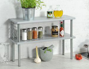 Kesper Küchen-Regal, 27818, Farbe: Grau