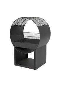 BUSCHBECK Feuerstelle Porthole Maße L40 x B56 x H80 cm schwarz